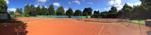 Tennisplatpanno